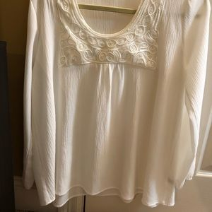 Off White Blouse (Women)